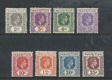 Single George VI (1936-1952) Mauritian Stamps
