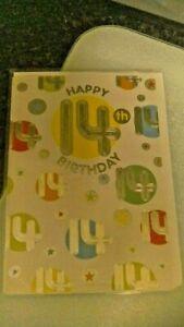 Age 14 birthday cards