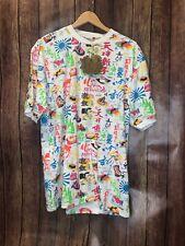 KANJI SHIRT XL Shirt Style K6033 Neon White NWT