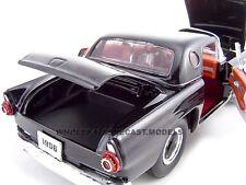 1956 FORD THUNDERBIRD BLACK PRO STREET 1:24 MODEL CAR BY UNIQUE REPLICAS 18510