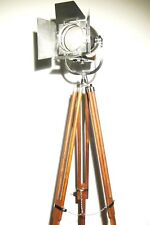 VINTAGE BRITISH STRAND THEATRE LAMP ANTIQUE ART DECO STRAND FILM LIGHT TRIPOD