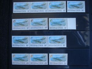 Unused Stamps Tristan da Cunha Opening of Calshot Harbour