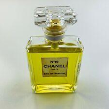Chanel No.19 50 ml EDP Women's Perfume Fragrance Spray Almost Full 1.7 FL OZ.