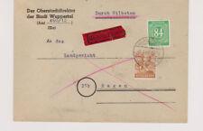All.Bes./Gemeinsch.Ausg. Mi.936, 951, Eil-Wuppertal - Hagen, 8.4.46, rs. Mgl.
