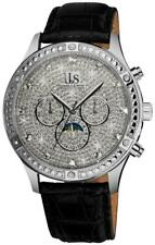 Joshua & Sons JS-41-SS Sparkling Mechanical Multi-Function Mens Watch