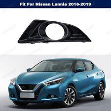 Front Bumper Fog Light Lamp Cover Grille Bezel Left For Nissan Lannia 2016-2019