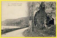 cpa Rare 76 - CAUDEBEC EN CAUX (Seine Maritime) Route de VILLEQUIER à CAUDEBEC
