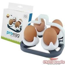 White Pro Egg Boiler cup & cooking heat resistance trivet in one