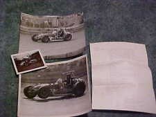SUPER SPRINT RACER NO. 44 PHOTOGRAPHS SALES SHEET LOT