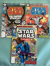 Marvel: Star Wars run (3) 16-18 (1978)