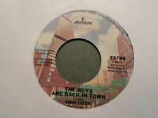 MERCURY 45 RECORD 73786/THIN LIZZY/JAILBREAK/BOYS ARE BACK IN TOWN/ EX ROCK