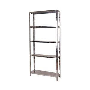 5 Tier Stainless Steel Shelving Storage Racks Unit 35x12x71 Heavy Duty Kitchen