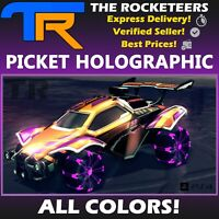 [PS4/PSN] Rocket League All Painted PICKET HOLOGRAPHIC Vindicator Crate Wheels