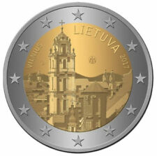 Lituania Lituanie NUOVO da 2 EURO VILNIUS 2017-COMMEM NUOVO UNC Moneta dell'Europa