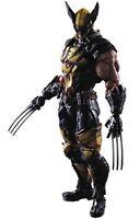 MARVEL UNIVERSE VARIANT PLAY ARTS Kai Wolverine PVC painted action figure F/S