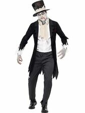"Till Death Do Us Part Zombie Groom Costume, Halloween Fancy Dress, 42""-44"""