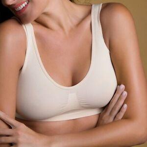 Brassiere Comfort Bra Reggiseno senza ferretto ganci e cuciture modellante Intim
