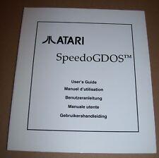 Atari 520 1040 ST STE Mega TT Falcon 030 Computer SpeedoGDOS manual NEW 1993