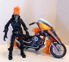 Marvel Legends Series 7 GHOST RIDER Figure With Motorcycle! Johnny Blaze! Loose!