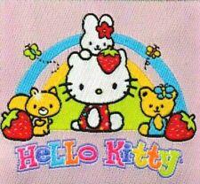 Reflektierende Applikation zum Aufbügeln Bügelbild 2-187 Hello Kitty