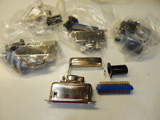 57-30360 MALE CABLE MOUNT CONNECTOR WITH METAL HOOD 36 PIN - YOU GET 5 PIECES