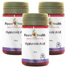 Power Health Hyaluronic Acid 100mg  - 3 x 60 capsules  TRIPLE PACK