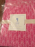 3pc New Pottery Barn Kids FEATHER PLUMES Twin Sheet Set  Pink