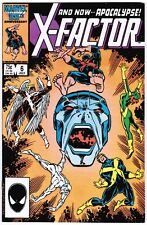 X-Factor 6 (1986) VF- First Full Apocalypse!