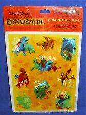 Hallmark Disney Dinosaur Stickers Dinos Rule 4 Sheets NIP Free Ship Over $15