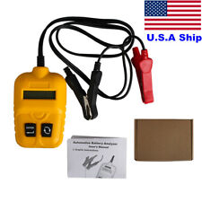 12V Vehicle Car Battery Tester Automotive Car Battery Analyzer Voltage CCA Test