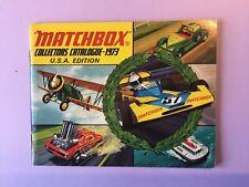 Matchbox Catalogue - 1973 - USA Edition -  ( ORIGINAL )