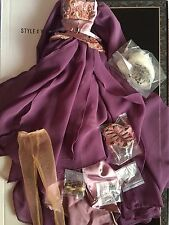Tonner Evangeline Ghastly ~ Attic Goddess ~ OUTFIT only - flowing purple fashion