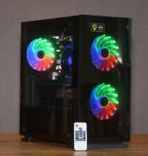 Gamer PC AMD Ryzen 3 2200G 16GB RAM 120GB SSD 500GB HDD Radeon Vega 8