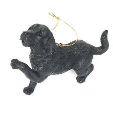 Black Lab Labrador Retriever Resin Ornament
