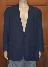 Oxxford Clothes Wool Blazer 2 Button Sport Coat Suit Jacket Size 48R