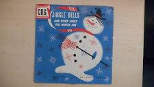 """CRG Records JINGLE BELLS And Other Songs For Winter Fun 10"""" 78 RPM 50s"""