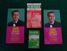 Small Lot of Vintage Harrah's Tahoe Hotel Casino 1965 Memorabilia