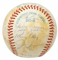 1978 New York Yankees Multi Signed Baseball Yogi Berra+21 BAS LOA A90042