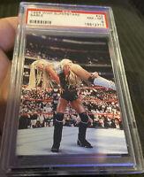 1998 Comic Images WWF Superstarz #22 Sable Psa 8 Rookie  Pop 1 W 1 Higher