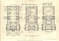 1902 Hearts Of Oak Benefit Society Head Office Euston Road Floor Plans