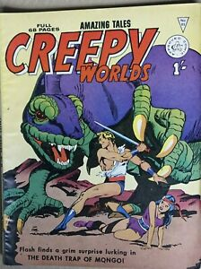 Alan Class Creepy Worlds #85 in Very Good Condition