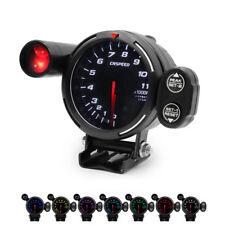 "3.5"" 80mm High Speed Stepper Motor 0-11000 RPM Tachometer Gauge Meter 7 Colors"