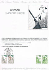 Document Officiel   86 Uo   Unesco  Yv N° Unesco 91 Et92