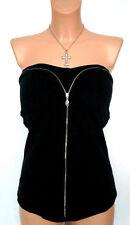 Figurbetonte Damenblusen, - tops & -shirts im Korsagentops aus Baumwollmischung