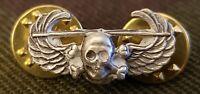 Mini Air Assault Skull Wing US Army Airborne Miniature Hat Cap Vest Badge Pin