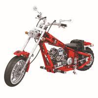 Blocksteine Winner 7046 Auto Serie Klassisches Harley Motorrad Spielzeug 568PCS