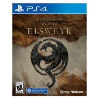 The Elder Scrolls Online Elsweyr PlayStation PS4 2019 US English Factory Sealed