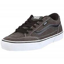 Men's Size 10.5 VANS Athletic Skate Shoes Sneakers Bearcat Charcoal Gray Suede
