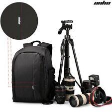 Groß Kamerarucksack DSLR SLR Reise Fototasche Laptop Notebook Regenschutz Tasche