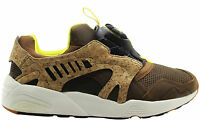 Puma Leather Suede Disc Cage Lux Opt 2 Mens Trainers Brown 356410 01 02